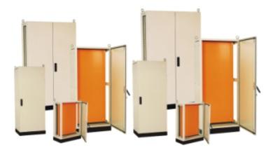 01.Armários Modulares EXP para montagem de painéis elétricos e eletrônicos